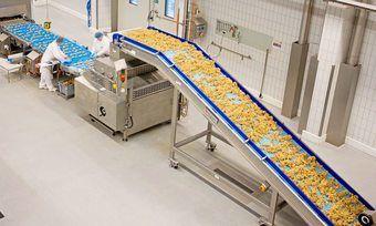 Produktionsanlage des Backwarenkonzerns Aryzta.