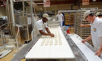 Produktion in einer Bäckerei: Der Zentralverband möchte durch eine Strukturreform das Bäckerhandwerk zukunftsfähig machen.