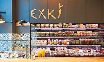 Exki bietet Snacks für jede Tageszeit.
