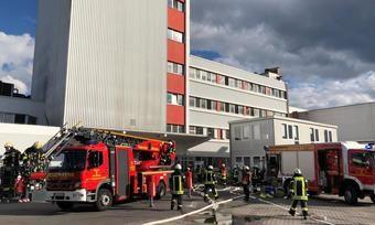 Die Feuerwehr war mit einem Großaufgebot vor Ort im Einsatz gewesen.
