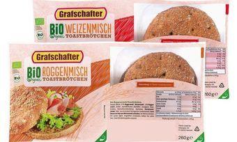 Verpackte Backware gibt es beim Discounter schon in Bio-Qualität.