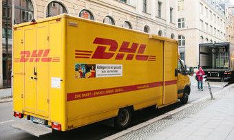 DHL liefert wie hier in Berlin nicht mehr für Amazon Fresh aus.