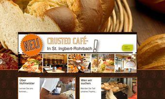 Die Homepage von Hofmeister Brot.