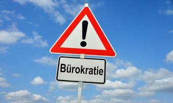 Beim Stichwort Bürokratie tauchen im Handwerk vor allem Warnsignale auf.