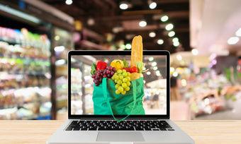 Der Online-Handel mit Lebensmitteln verzeichnet hohe Wachstumsraten.