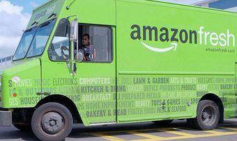 Auch in Deutschland könnte Amazon Fresh künftig gebührenfrei auf Liefertour gehen.