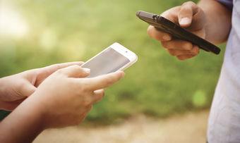 Das Smartphone als Speicher für den Kassenbon.