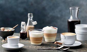Professionell: Spezielles Porzellan hebt den Kaffeegenuss.