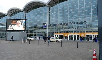 Die Messehallen in Hamburg bleiben im März geschlossen.