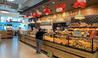 Durch die Übernahme zwölf ehemaliger Rewe-Standorte - wie hier in Frankfurt - konnte Heberer auf diesen Flächen ein zweistelliges Umsatzplus verbuchen.