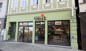 Cafébereiche der Bäckerei Veit sind geschlossen, dafür gibt es jetzt aber einen Lieferservice.