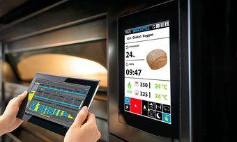Moderne Backöfen lassen sich digital steuern.
