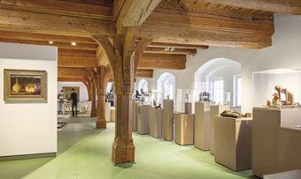 Die Sammlung im Museum Brot und Kunst ist ab Dienstag, den 12. Mai wieder zugänglich.