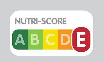 Das Farb-und Buchstabensystem des Nutri-Score.