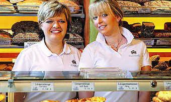 Szene aus dem gelungenen Berufsinformationsfilm für Bäckerei-Fachverkäuferinnen: