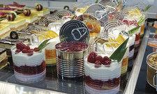Typisch Sigep: Dessert-Kreationen in Glas und Dose.