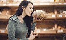 Genusssache: der Geruch frischen Brotes.