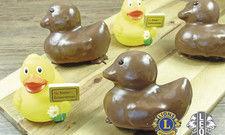 Steiskal kreiert anlässlich des Entenrennens Schoko-Muffin-Enten.